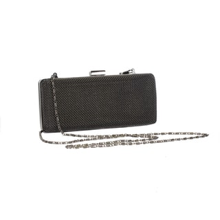 Joanel Gunmetal Evening Bag