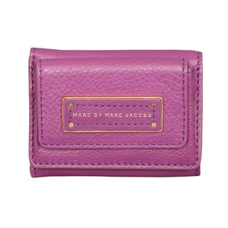 Marc by Marc Jacobs Too Hot to Handle Brighter Purple Compact Trifold Wallet