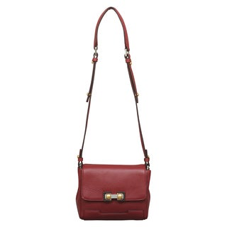 Marc by Marc Jacobs Pouchette Cabernet Red Crossbody Handbag