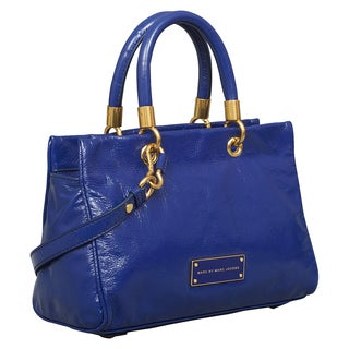 Marc by Marc Jacobs Too Hot to Handle Bright Royal Satchel Handbag