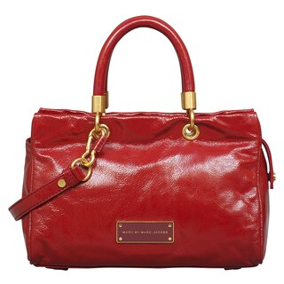 Marc by Marc Jacobs Too Hot to Handle Cabernet Red Satchel Handbag
