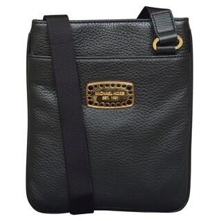 Michael Kors Jet Set Jewel Black Crossbody Handbag