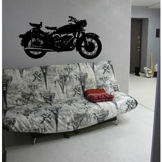 Motorcycle motocross motoralli Wall Art Sticker Decal