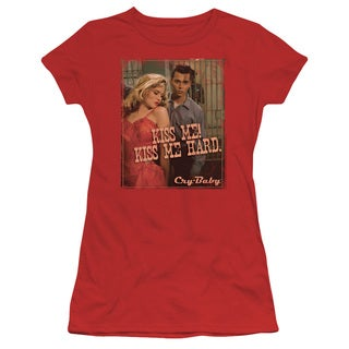 Cry Baby/Kiss Me Junior Sheer in Red