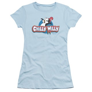 Chilly Willy/Logo Junior Sheer in Light Blue