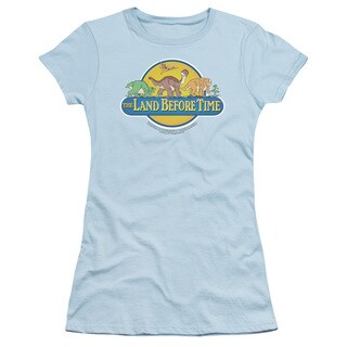 Land Before Time/Dino Breakout Junior Sheer in Light Blue