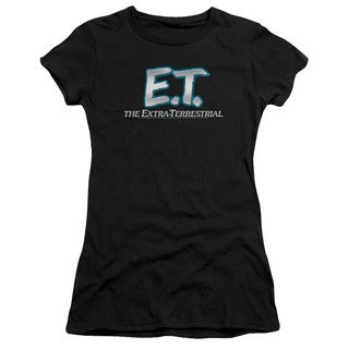ET/Logo Junior Sheer in Black