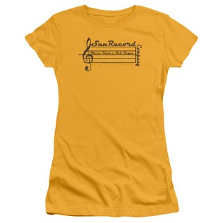 Sun Records/Music Staff Junior Sheer in Gold