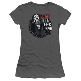Sons Of Anarchy/Loyal Junior Sheer in Charcoal