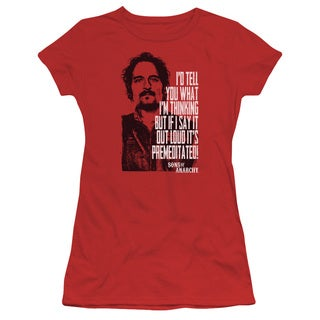 Sons Of Anarchy/With Tig Junior Sheer in Red