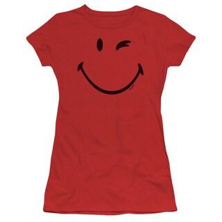 Smiley World/Big Wink Junior Sheer in Red in Red