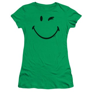 Smiley World/Big Wink Junior Sheer in Kelly Green in Kelly Green