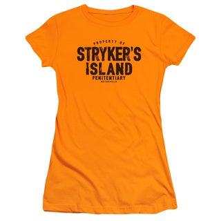 Superman/Strykers Island Junior Sheer in Orange in Orange