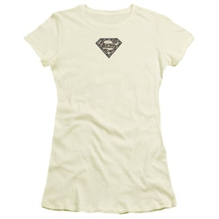 Superman/Super Leopard Junior Sheer in Cream