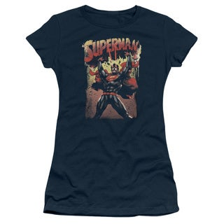 Superman/Lift Up Junior Sheer in Navy
