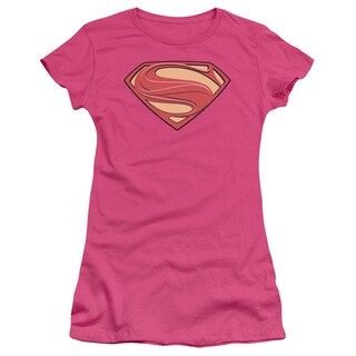 Man Of Steel/New Solid Shield Junior Sheer in Hot Pink