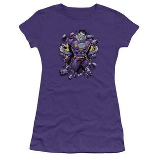 Superman/Bizzaro Breakthrough Junior Sheer in Purple