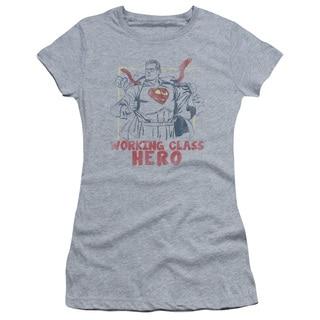 Superman/Working Class Junior Sheer in Heather