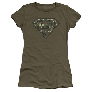 Superman/Super Camo Junior Sheer in Military Green