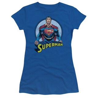 Superman/Flying High Again Junior Sheer in Royal