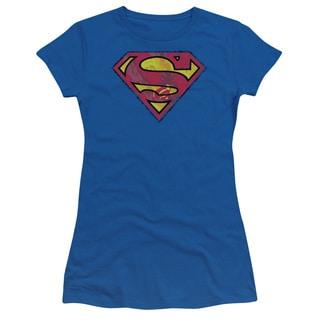 Superman/Action Shield Junior Sheer in Royal