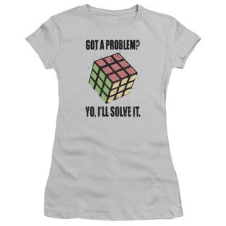Rubik's Cube/Problem Solver Junior Sheer in Silver in Silver