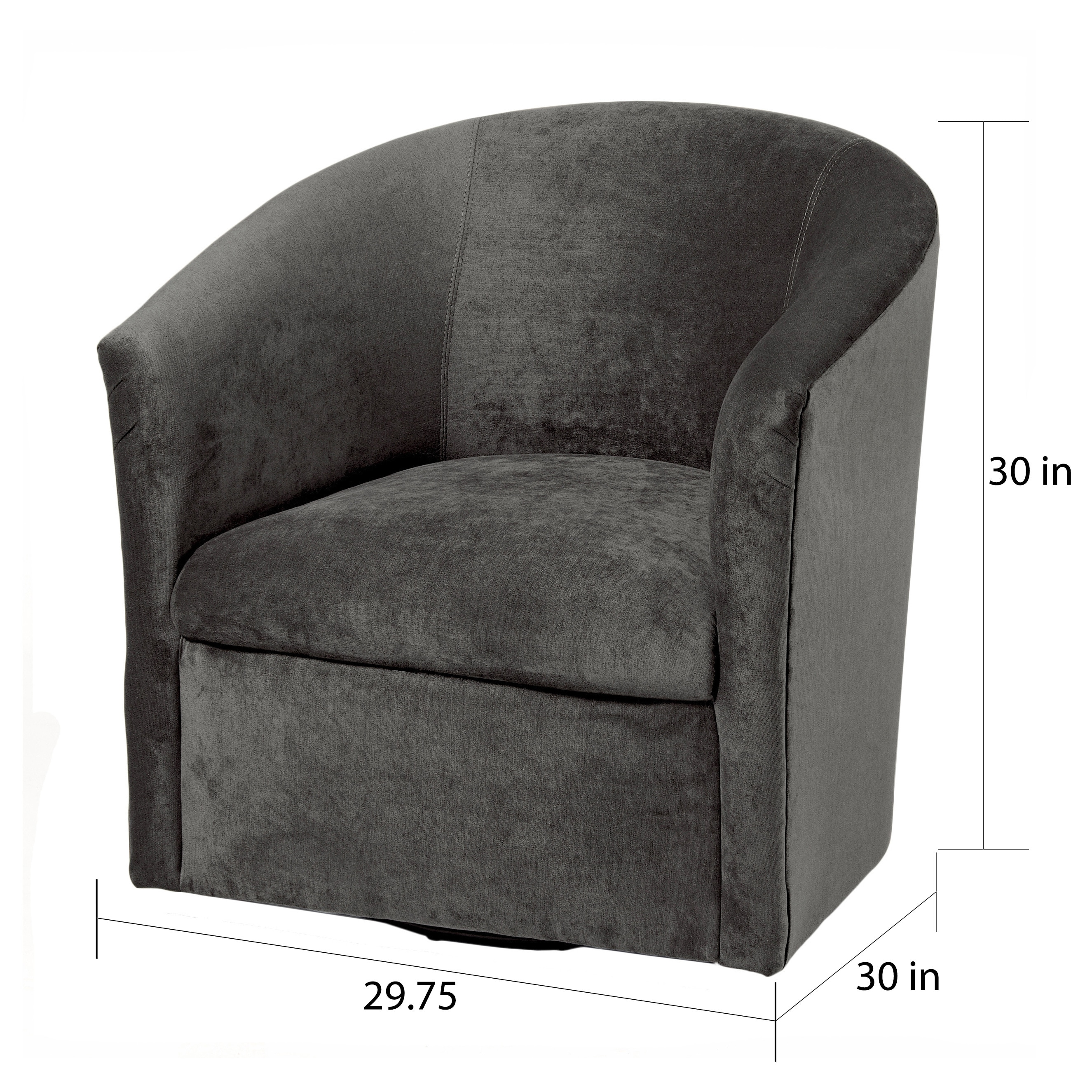 Admirable Ellery Microfiber Swivel Accent Chairs By Greyson Living Pdpeps Interior Chair Design Pdpepsorg