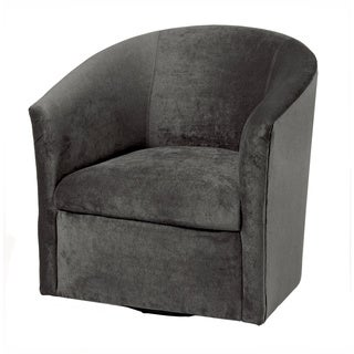Greyson Living Ellery Microfiber Swivel Accent Chairs