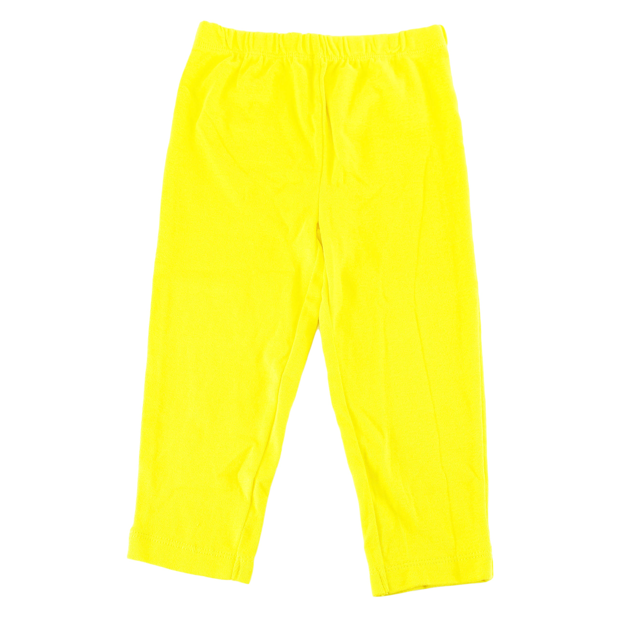 Shop Carter S Girl S Yellow Cotton 24 Months Baby Leggings Overstock 11923703