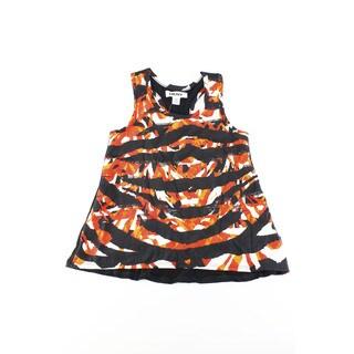 DKNY Girls' Black Rayon/Spandex/Polyester Sleeveless Baby 2T T-shirt