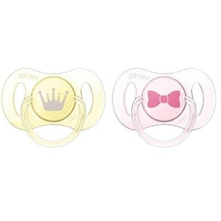 Philips Avent Bow/Crown Pack of Two 0-2 Months Newborn Soother|https://ak1.ostkcdn.com/images/products/11923779/P18813841.jpg?impolicy=medium