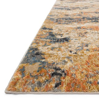 Phaedra Abstract Eclipse Rug (3'11 x 5'9)