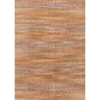 "Phaedra Abstract Orange/ Sunset Rug - 7'10"" x 11'"
