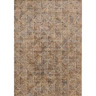 Phaedra Abstract Ivory/ Multi Rug (3'11 x 5'9)