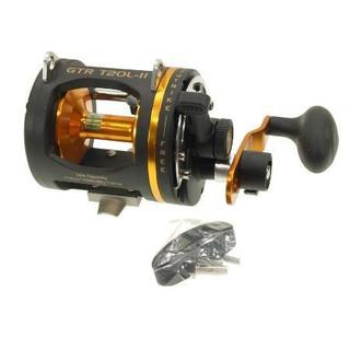 Omoto Deluxe GTR 2-Speed Graphite Reel Level