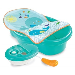 Summer Infant Green Plastic Bath and Shower Center