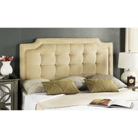 Safavieh Saphire Buckwheat Upholstered Tufted Headboard (King)