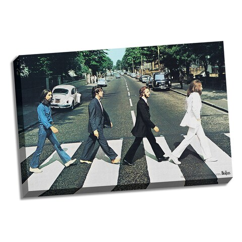 The Beatles Abbey Road 24x36 Canvas