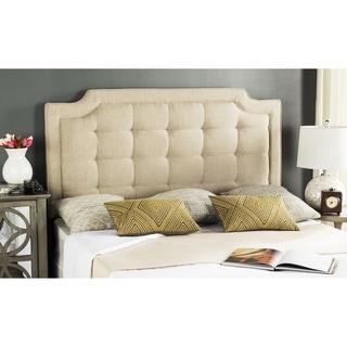 Safavieh Saphire Hemp Upholstered Tufted Headboard (Full)