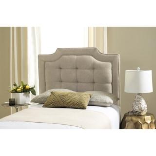 Safavieh Saphire Hemp Upholstered Tufted Headboard (Twin)