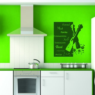 Herb Deluxe Wall Decal Stickers