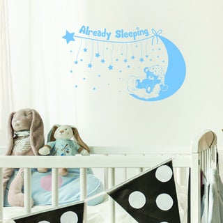 Already Sleeping Vinyl Art Wall Decal