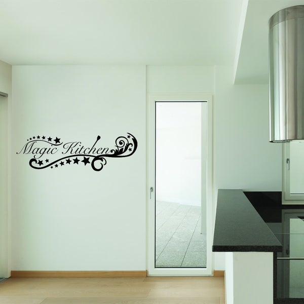 Style & Apply Magic Kitchen II Multicolored Vinyl Wall Decal
