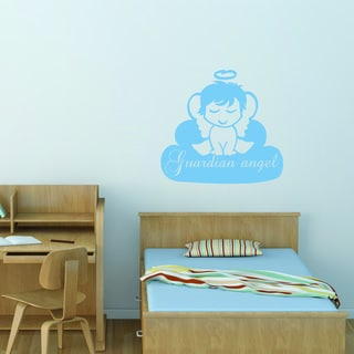 Guardian Angel Vinyl Art Wall Decal