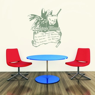 Bahama Mama Wall Decal Sticker