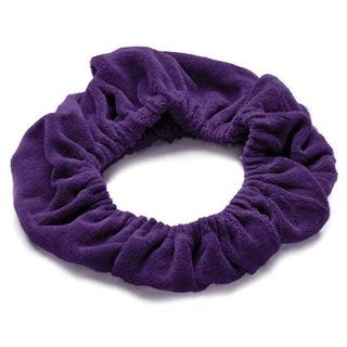 Tassi Purple Cotton/Polyester Hair Holder