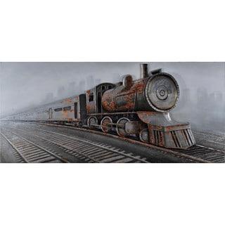 Aurelle Home Train Wall Canvas