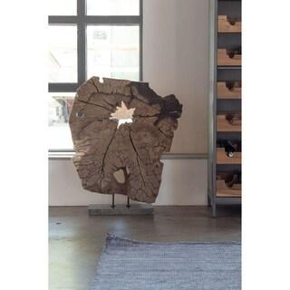 Aurelle Home Solid Rustic Root Wood Sculpture