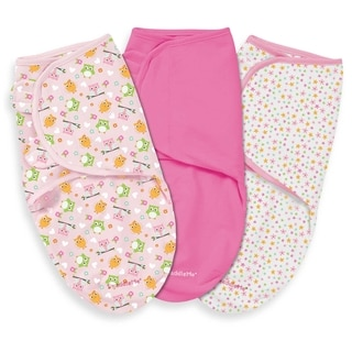 Summer Infant Hoot I'm Cute Large SwaddleMe (Pack of 3)