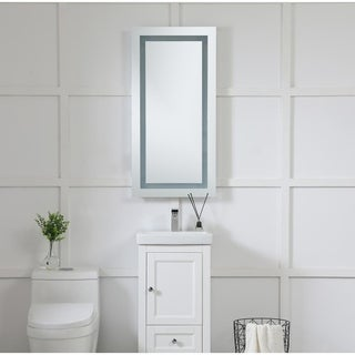 Elegant Lighting Rectangle LED Electric Mirror (20 x 40)